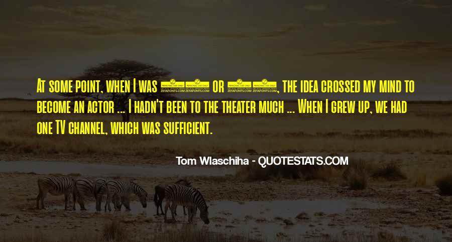 Tom Wlaschiha Quotes #999539