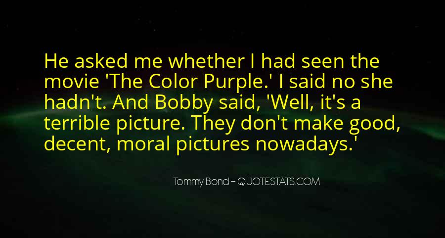 Tommy Bond Quotes #548351