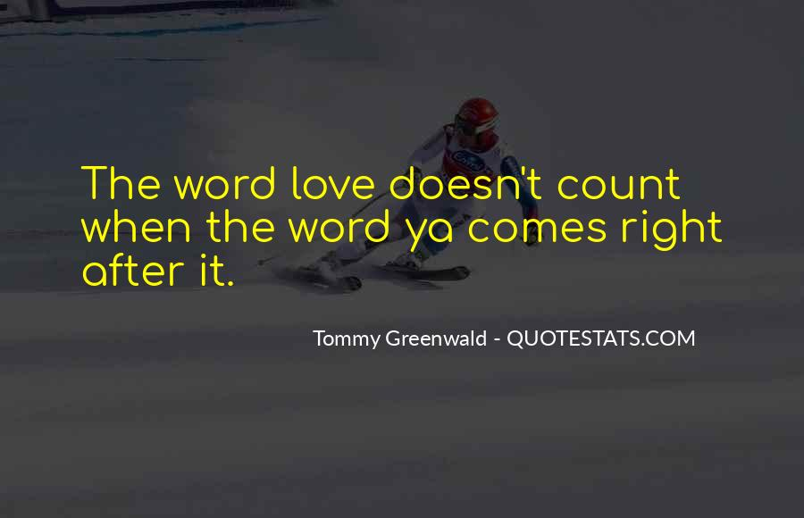 Tommy Greenwald Quotes #155930
