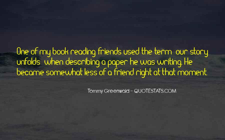 Tommy Greenwald Quotes #83282