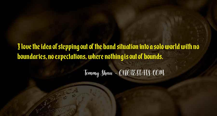 Tommy Shaw Quotes #109495