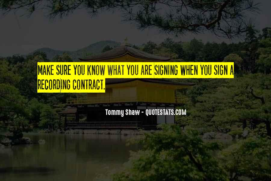 Tommy Shaw Quotes #1617023