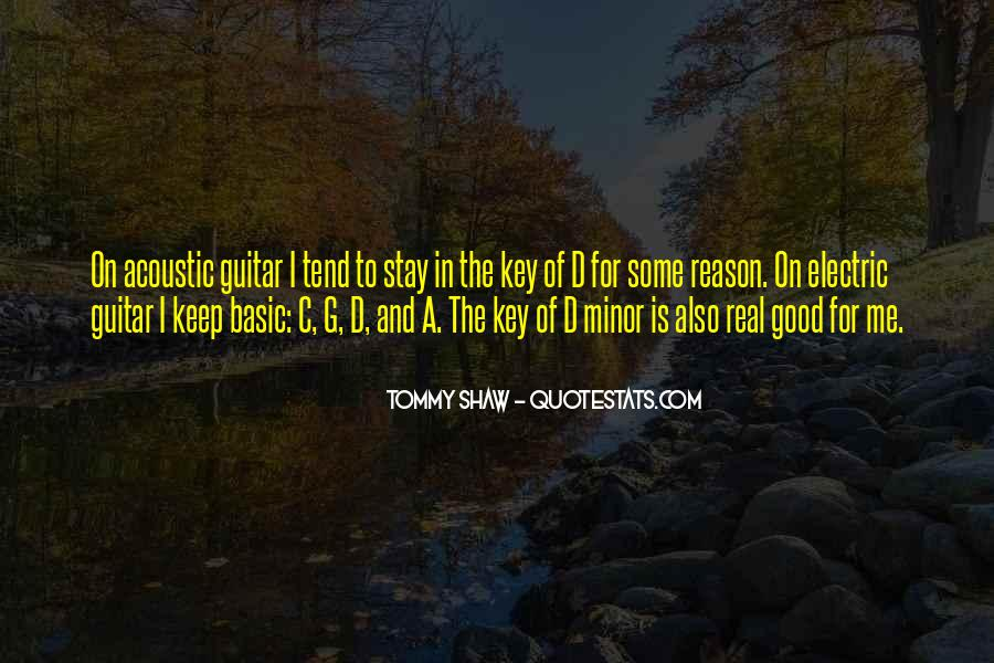 Tommy Shaw Quotes #335275
