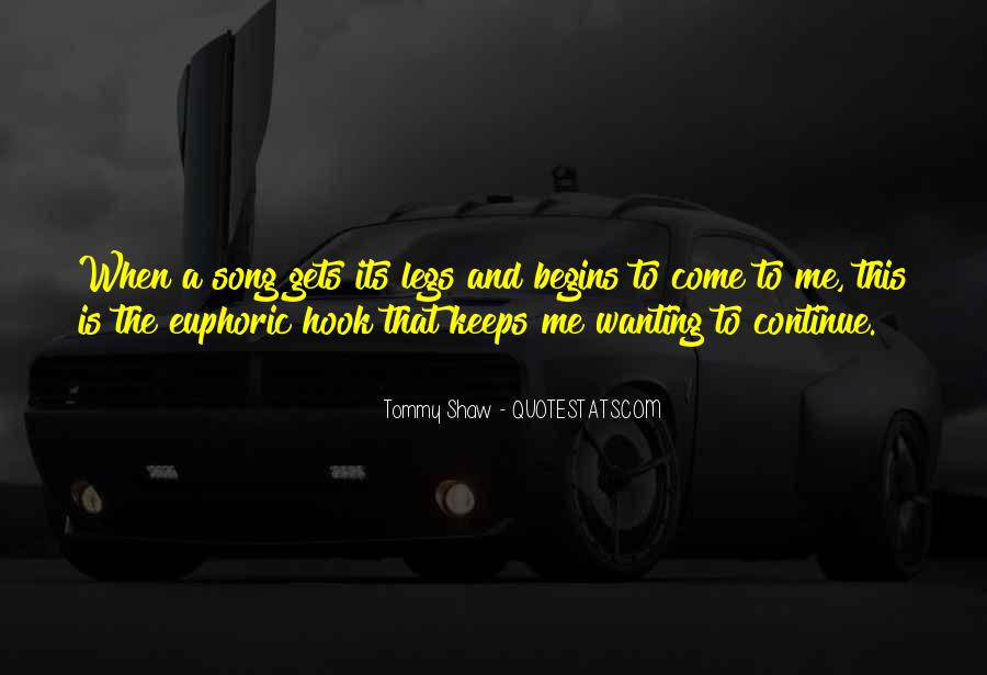 Tommy Shaw Quotes #837113