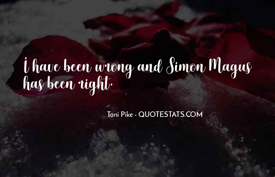 Toni Pike Quotes #873339