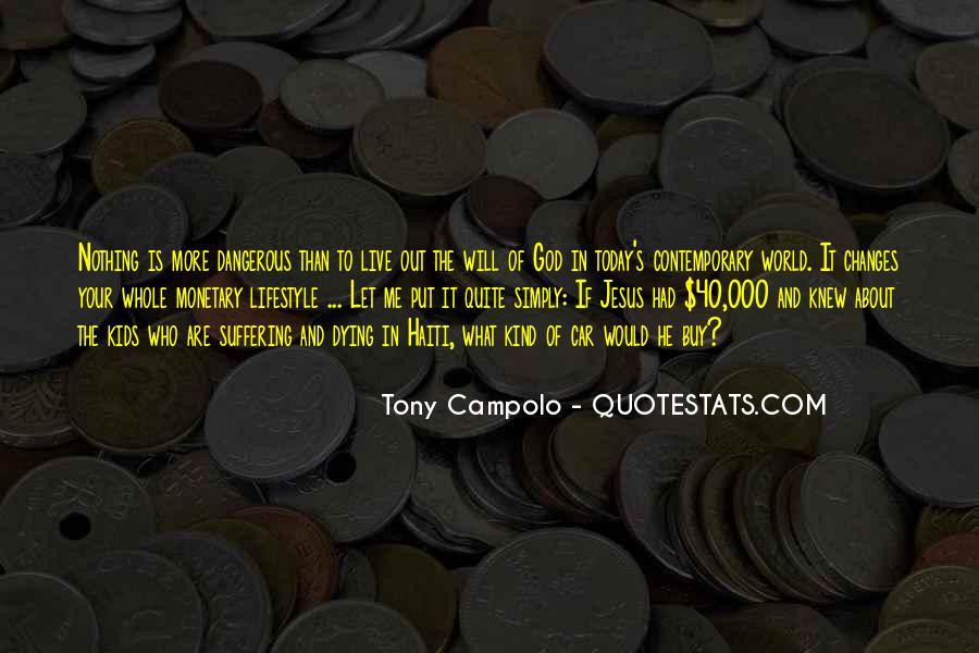 Tony Campolo Quotes #140448