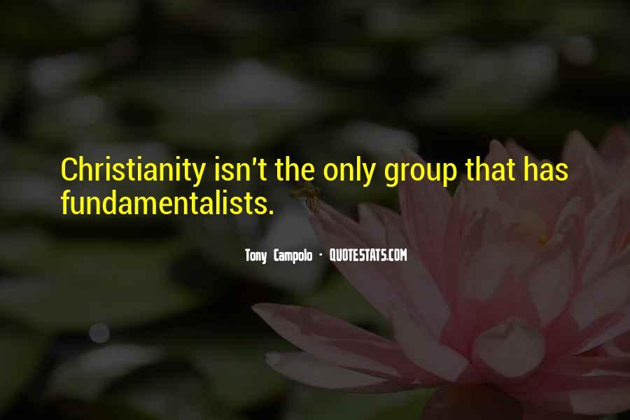 Tony Campolo Quotes #1472316