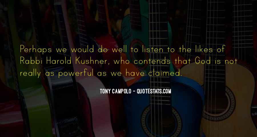 Tony Campolo Quotes #1561234