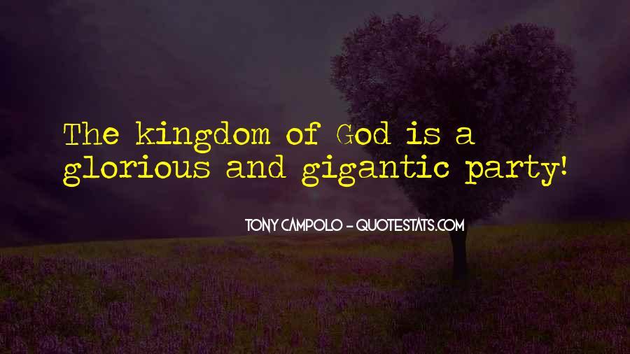 Tony Campolo Quotes #1695416