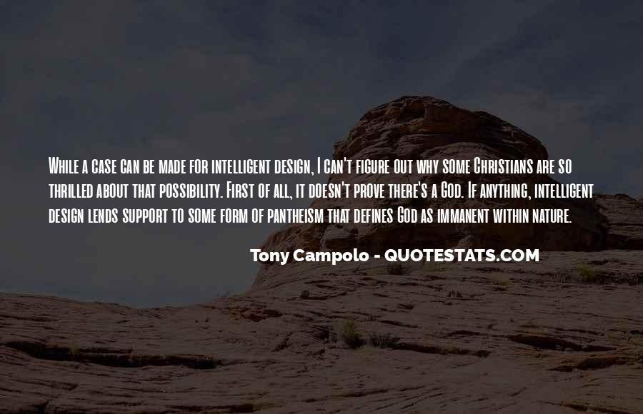 Tony Campolo Quotes #1872475