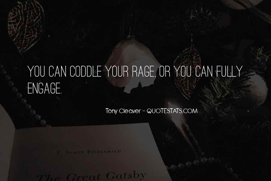 Tony Cleaver Quotes #660955