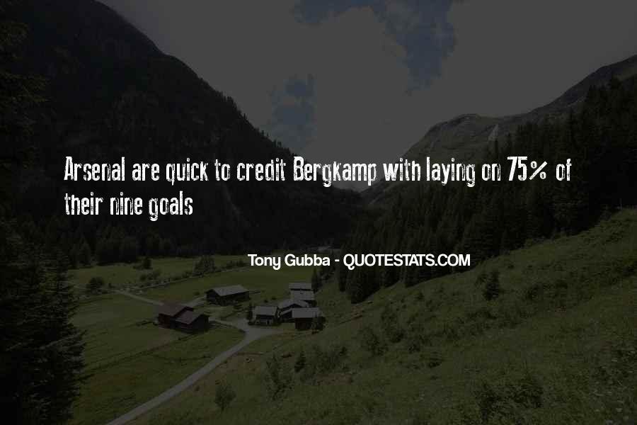 Tony Gubba Quotes #303868