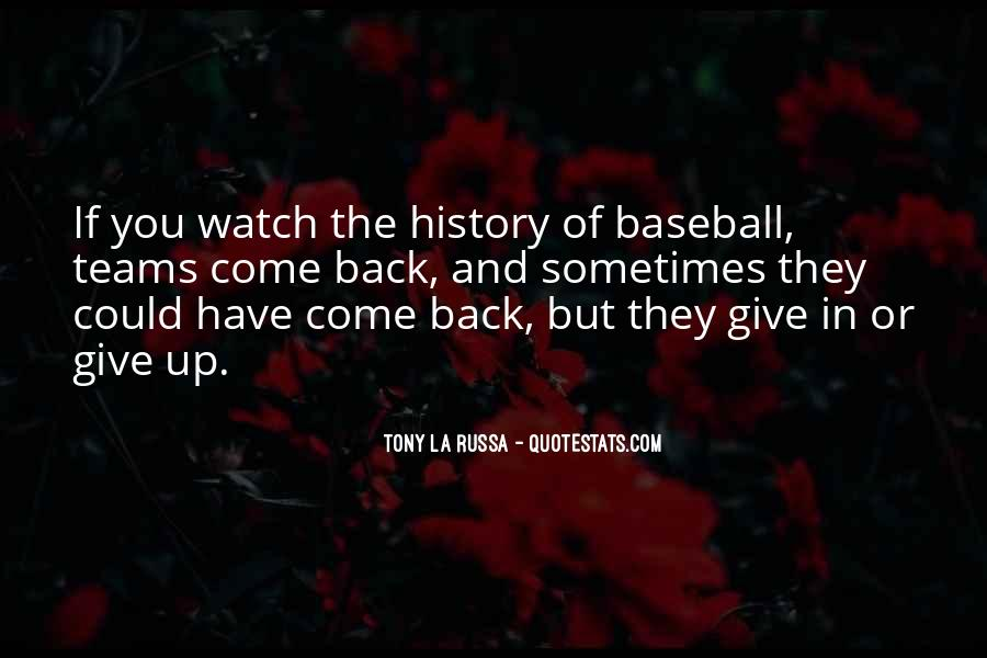 Tony La Russa Quotes #216280