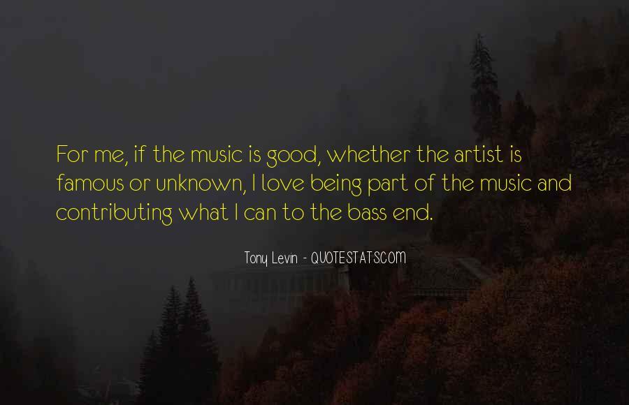 Tony Levin Quotes #351277