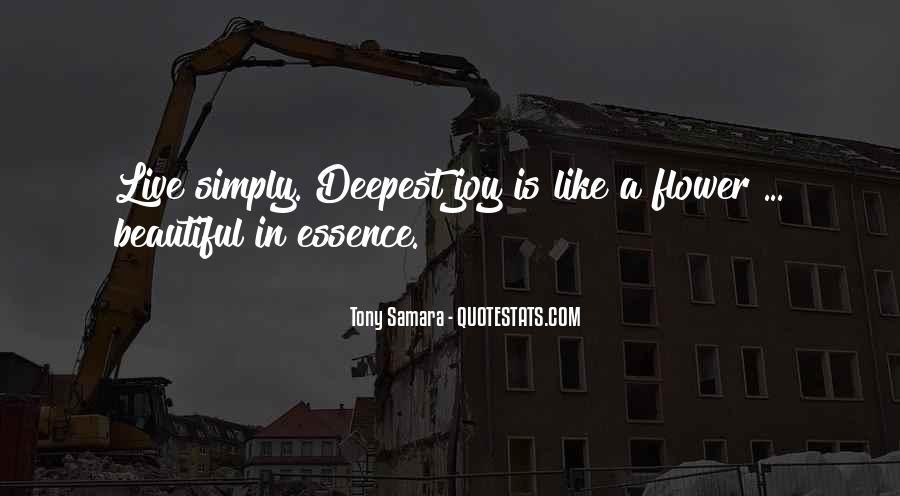 Tony Samara Quotes #1353481