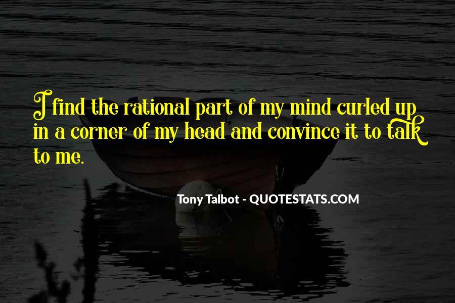 Tony Talbot Quotes #1182896