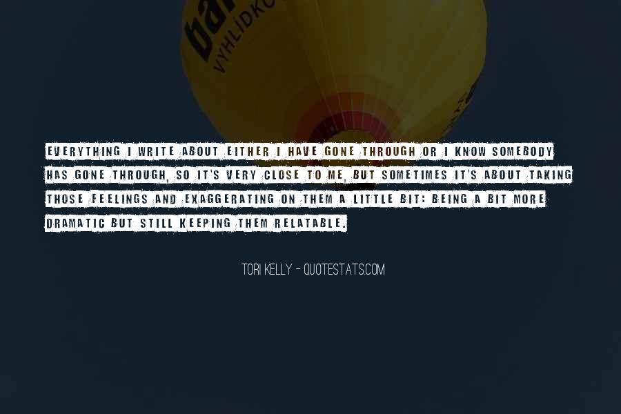 Tori Kelly Quotes #1534725