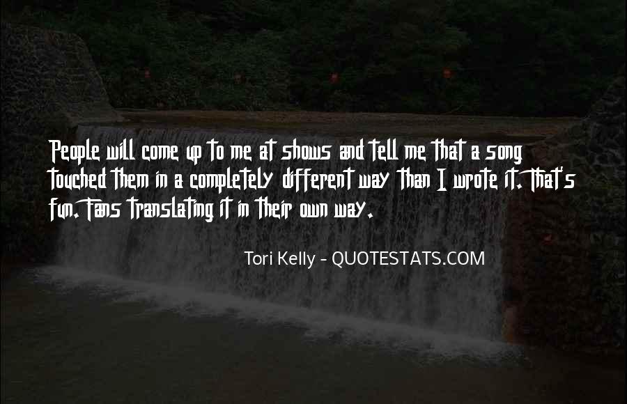 Tori Kelly Quotes #180601