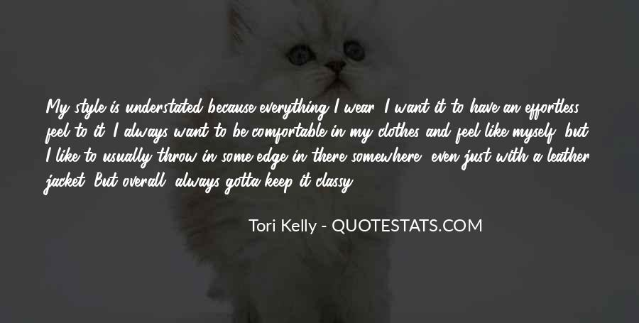 Tori Kelly Quotes #538449