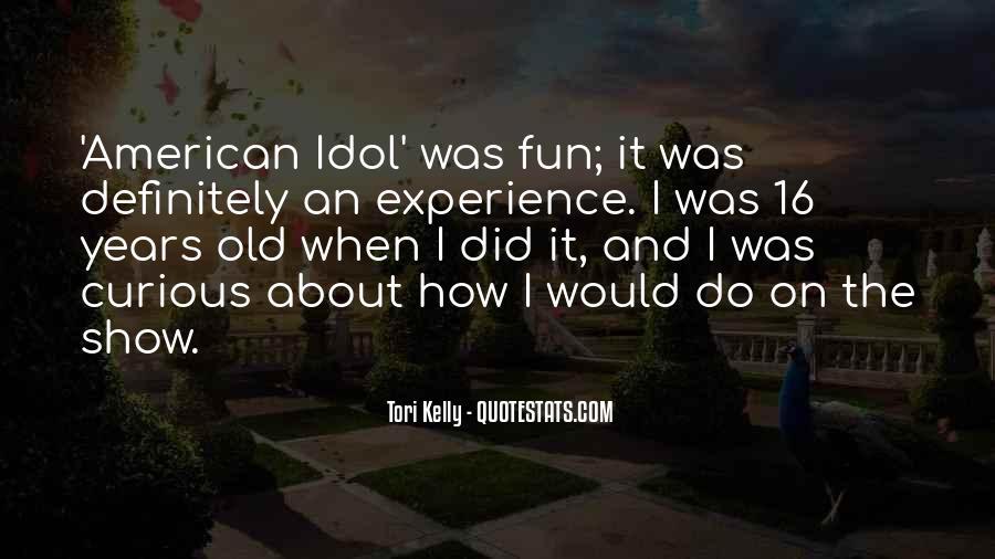 Tori Kelly Quotes #714037