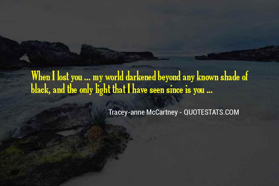 Tracey-anne McCartney Quotes #1848497