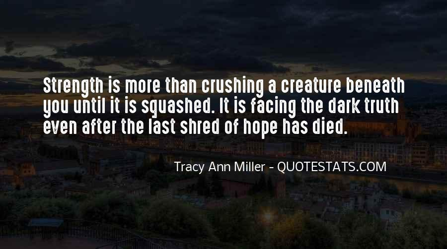 Tracy Ann Miller Quotes #1042789