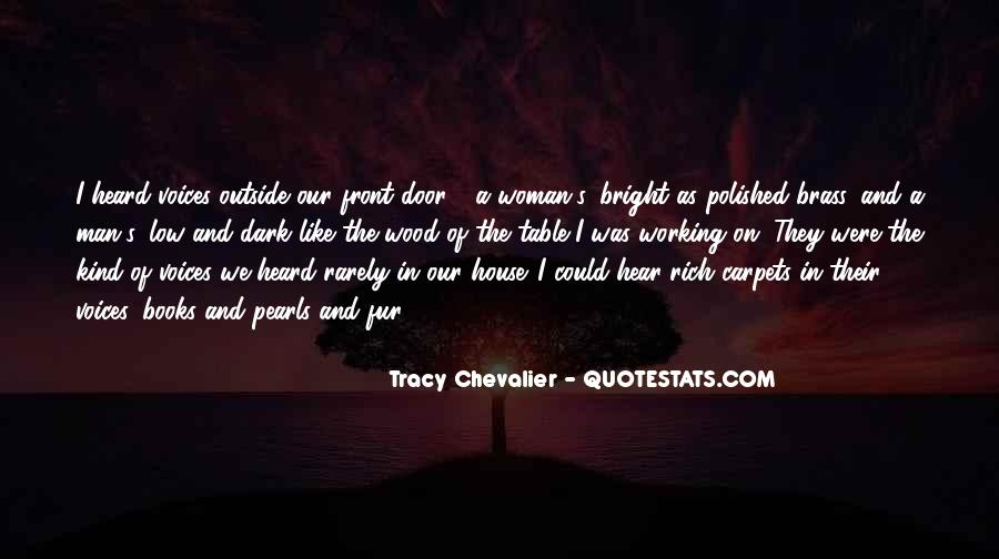 Tracy Chevalier Quotes #1439263