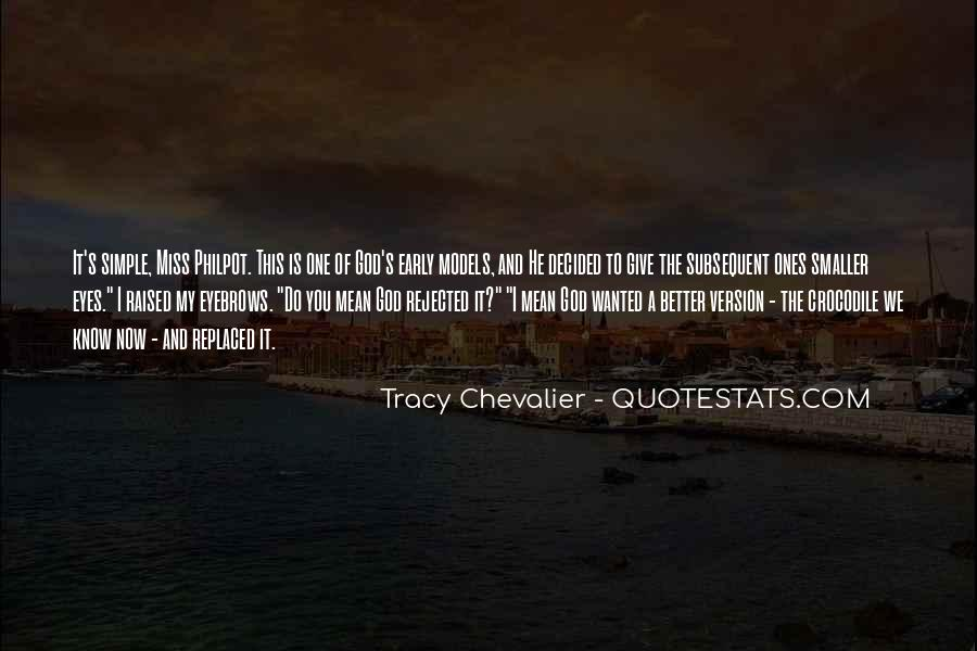 Tracy Chevalier Quotes #1498777
