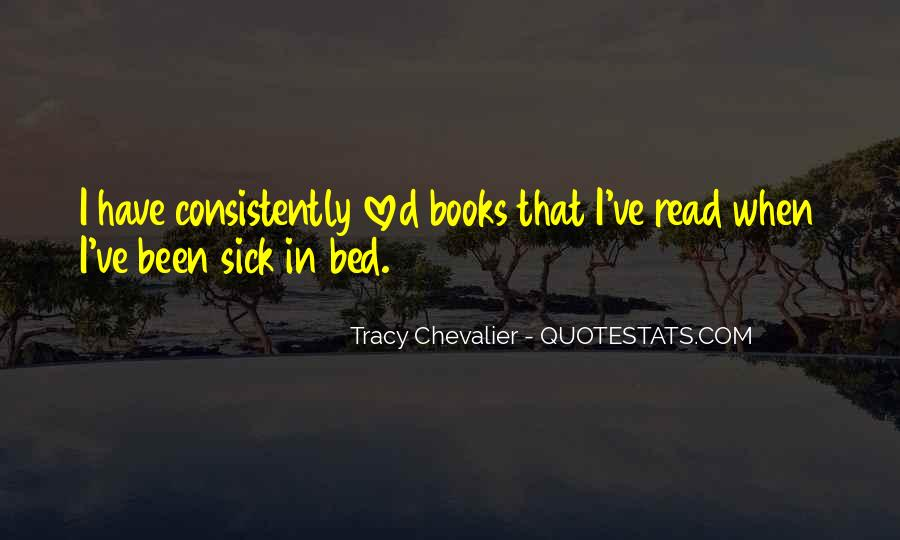 Tracy Chevalier Quotes #1699408