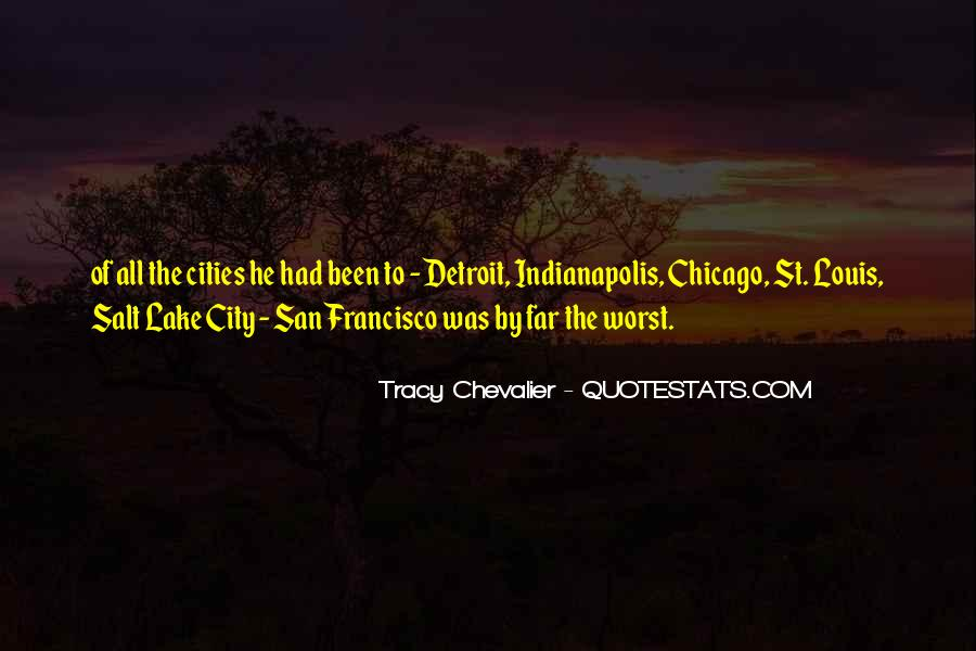 Tracy Chevalier Quotes #392860