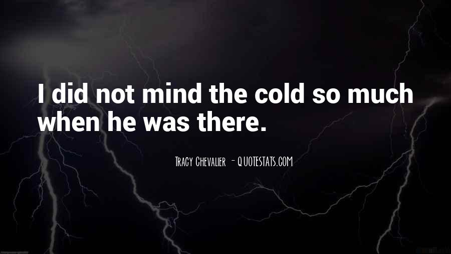 Tracy Chevalier Quotes #495295