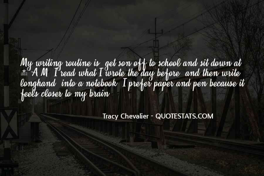 Tracy Chevalier Quotes #800439