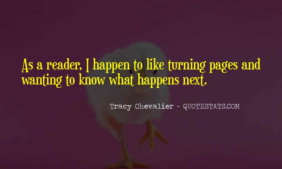 Tracy Chevalier Quotes #872568