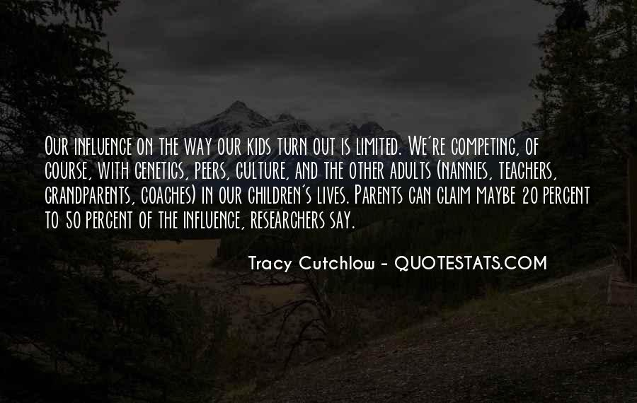 Tracy Cutchlow Quotes #821585