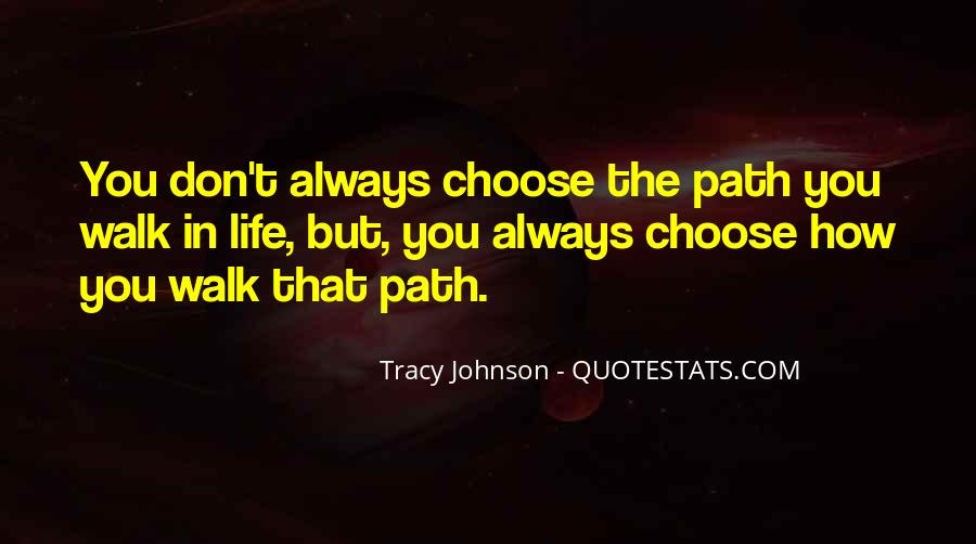 Tracy Johnson Quotes #415241