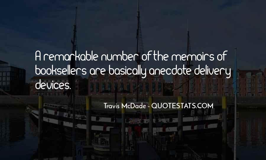 Travis McDade Quotes #1800159