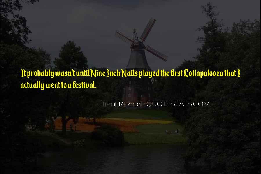 Trent Reznor Quotes #1121518
