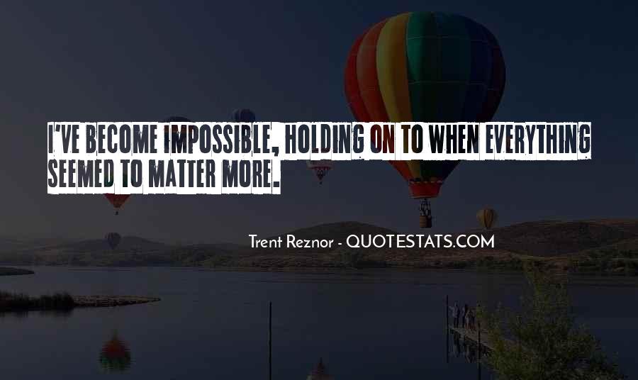 Trent Reznor Quotes #129355