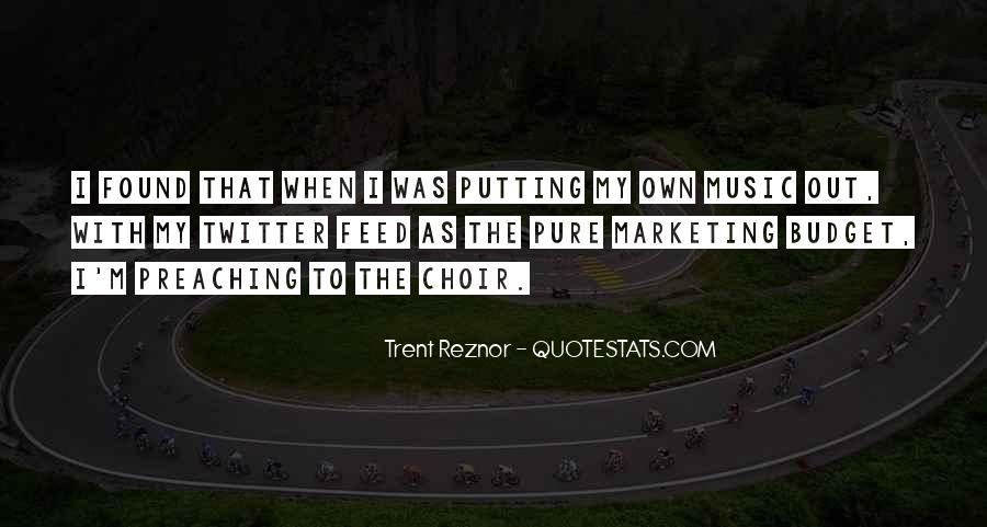 Trent Reznor Quotes #1502135