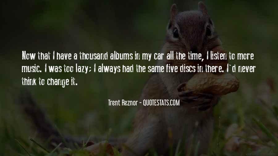 Trent Reznor Quotes #258939
