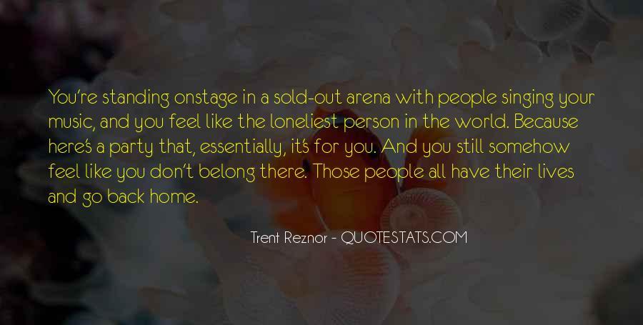 Trent Reznor Quotes #260192