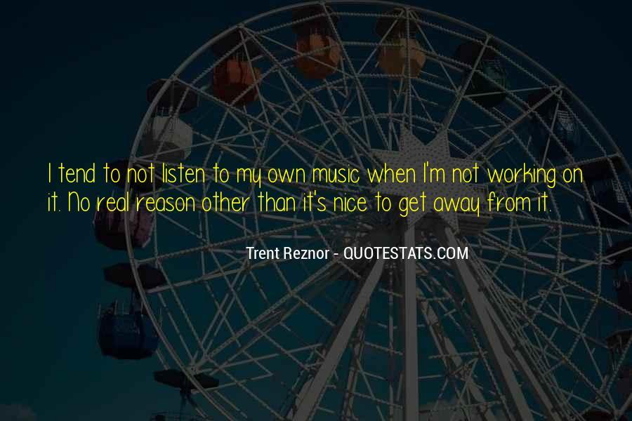 Trent Reznor Quotes #295730
