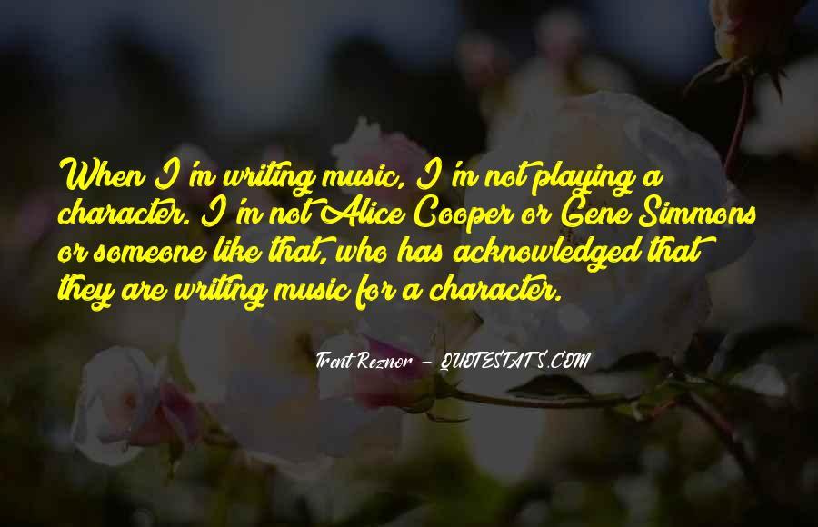 Trent Reznor Quotes #775408