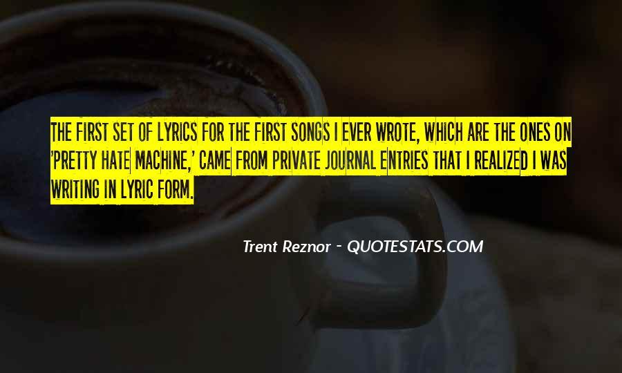 Trent Reznor Quotes #794278