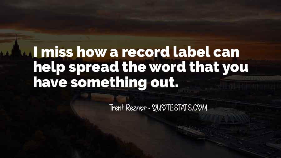 Trent Reznor Quotes #805605