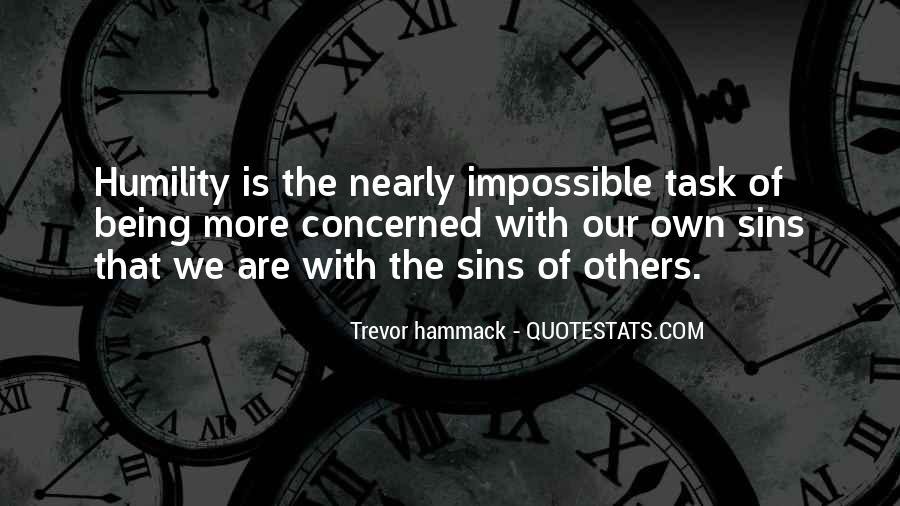 Trevor Hammack Quotes #1397575