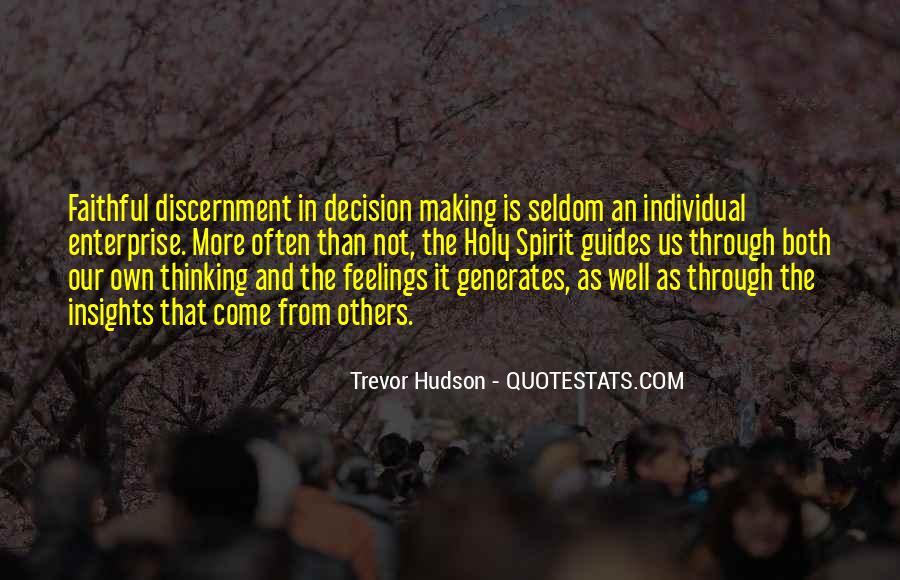 Trevor Hudson Quotes #1476186