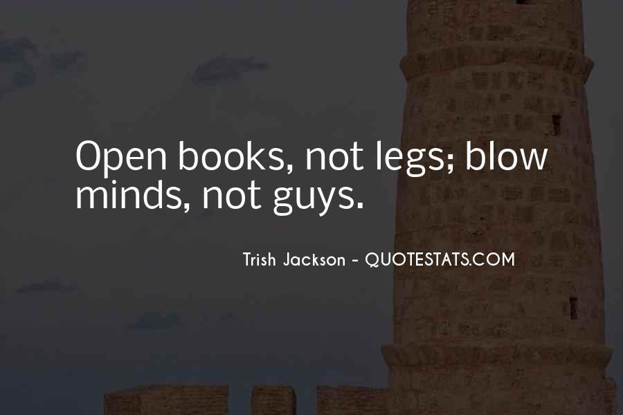Trish Jackson Quotes #1500573