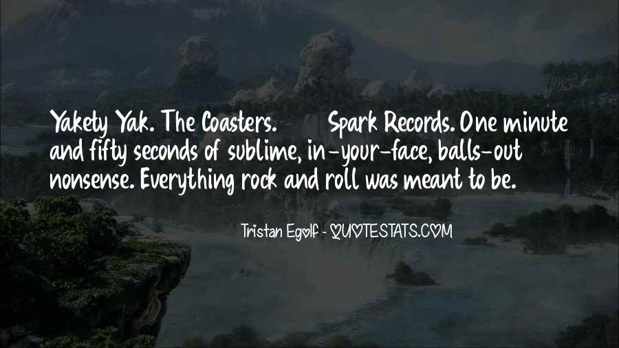 Tristan Egolf Quotes #1247126