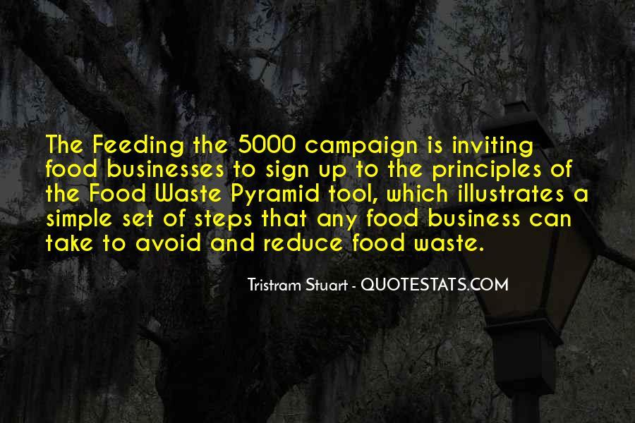 Tristram Stuart Quotes #14620